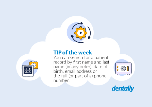 Tip of the week - search for a patient