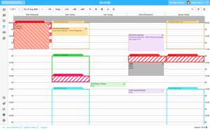 Dentally Screenshot - Appointment book - full screen