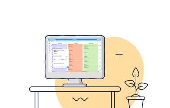 Homepage - computer on desk