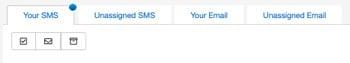 Inbox tabs