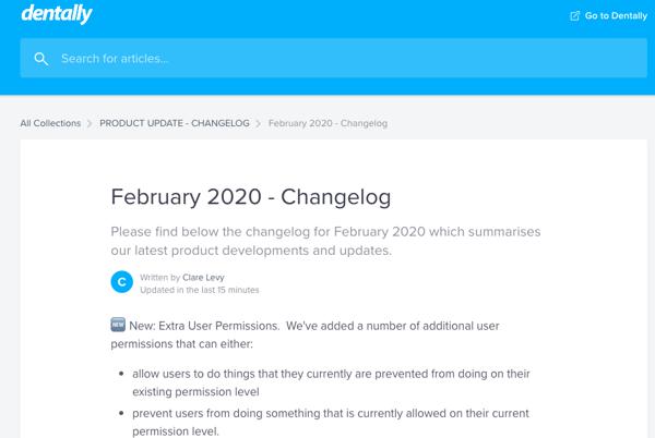 Product update Feb 20