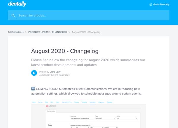 August Changelog