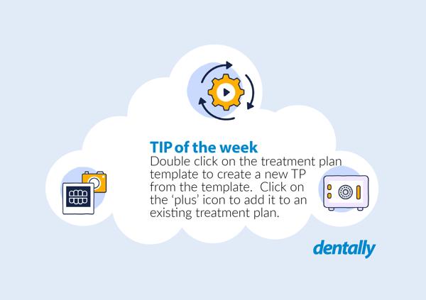 Treatment plan templates